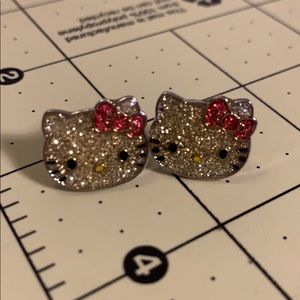 Sanrio Hello Kitty Sparkling Earrings